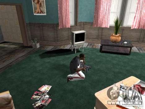 Aliento para GTA San Andreas tercera pantalla