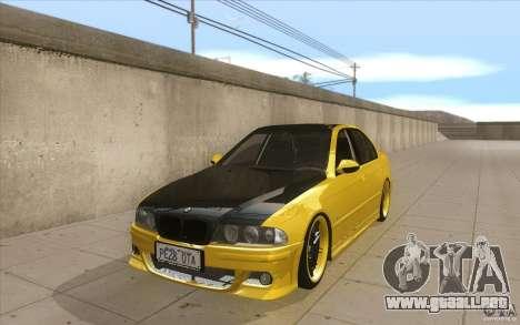 BMW M5 E39 - FnF4 para GTA San Andreas
