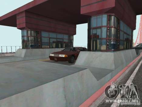 Bridge Pay para GTA San Andreas segunda pantalla