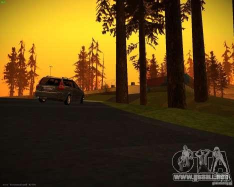 Vaz-2171 Restajl para la visión correcta GTA San Andreas