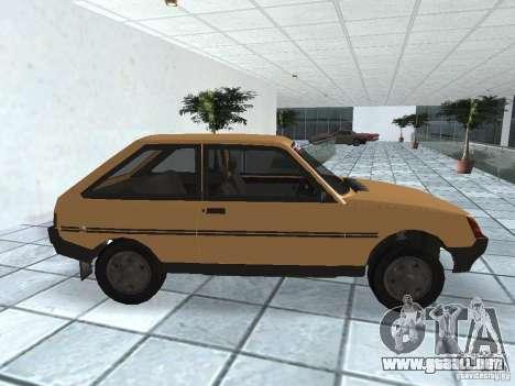 ZAZ Tavria 1103 para GTA San Andreas left