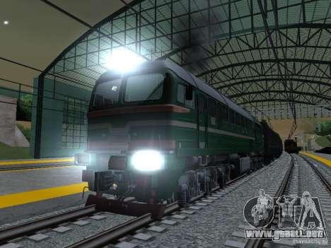Modificación del ferrocarril III para GTA San Andreas sexta pantalla
