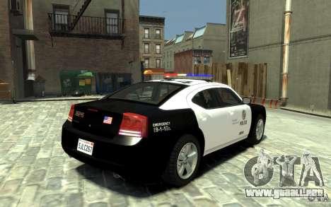 Dodge Charger LAPD V1.6 para GTA 4 visión correcta