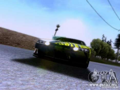 Nissan Silvia S14 Matt Powers v3 para la visión correcta GTA San Andreas