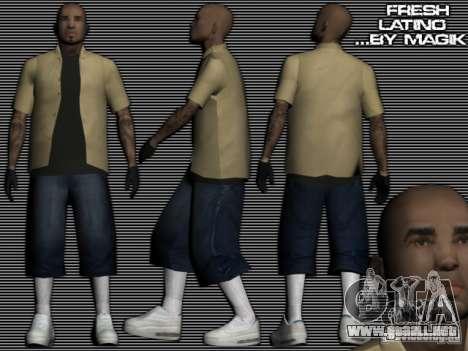 Los Latinos nuevos para GTA: SA para GTA San Andreas
