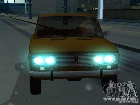 VAZ 2103 Convertible para GTA San Andreas vista hacia atrás