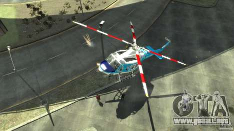 NYPD Bell 412 EP para GTA 4 left