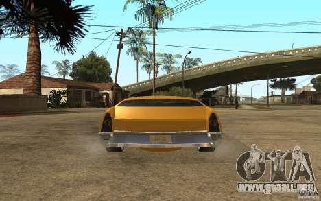 MGC Phantom para GTA San Andreas vista posterior izquierda