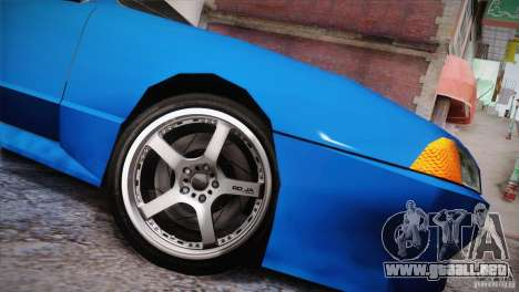FM3 Wheels Pack para GTA San Andreas twelth pantalla