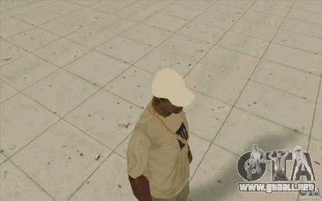 Tapa captrucka para GTA San Andreas segunda pantalla