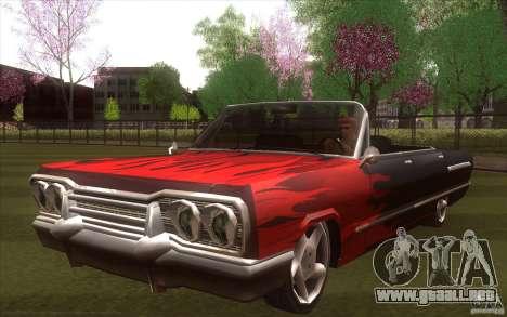 Savanna HD para GTA San Andreas