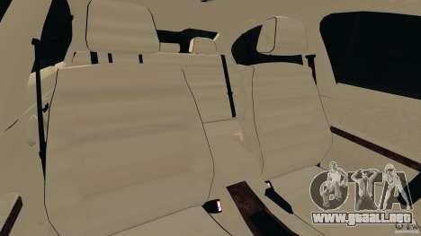 BMW 330i E92 para GTA 4 vista interior