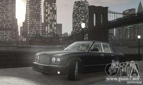 Bentley Arnage T v 2.0 para GTA 4 vista interior