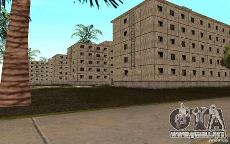 Un pequeño pueblo ruso en Grove Street para GTA San Andreas sucesivamente de pantalla