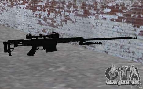M98B para GTA San Andreas sucesivamente de pantalla