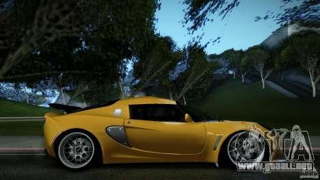 Lotus Exige Track Car para GTA San Andreas left