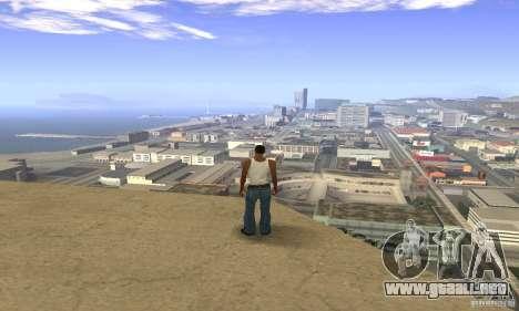 Sunshine ENB Series by Recaro para GTA San Andreas sucesivamente de pantalla