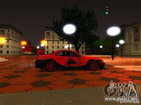 ENBSeries by Mick Rosin para GTA San Andreas sucesivamente de pantalla