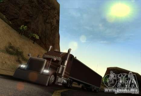 Remolque para Freightliner Classic XL Custom para GTA San Andreas left