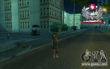 Caja HD-Bum para GTA San Andreas sucesivamente de pantalla