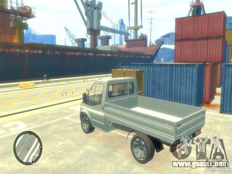 Ford Transit 2007 Pickup para GTA 4 left