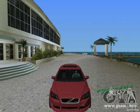 Volvo C30 para GTA Vice City visión correcta