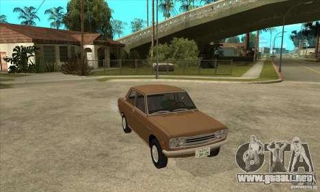 Datsun 510 para GTA San Andreas vista hacia atrás