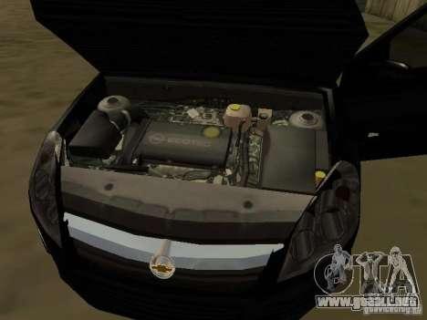 Chevrolet Vectra Elite 2.0 para la vista superior GTA San Andreas