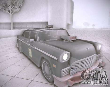 Diablo Cabbie HD para GTA San Andreas left