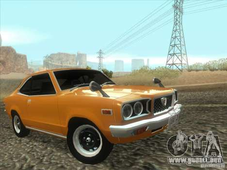 Mazda Savanna RX3 para vista lateral GTA San Andreas