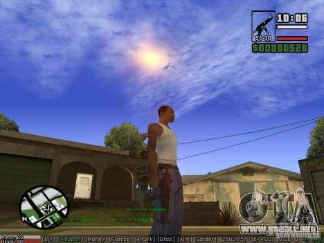 Pak armas para GTA San Andreas tercera pantalla
