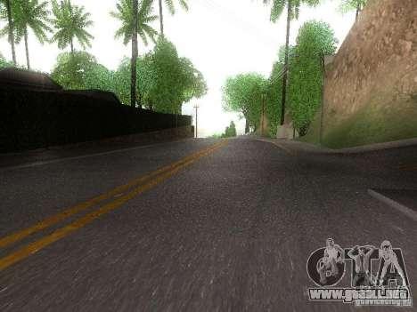 Modification Of The Road para GTA San Andreas segunda pantalla
