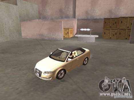 Audi A4 Convertible v2 para GTA San Andreas left