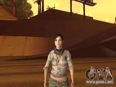 FaryCry 3 Liza Snow para GTA San Andreas