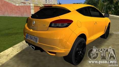 Renault Megane 3 Sport para GTA Vice City vista lateral izquierdo