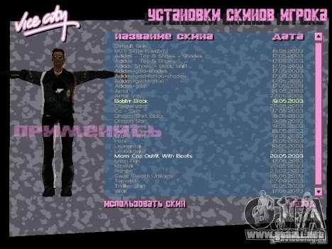 Pack de skins para Tommy para GTA Vice City segunda pantalla