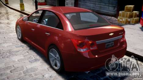 Chevrolet Cruze para GTA 4 vista superior