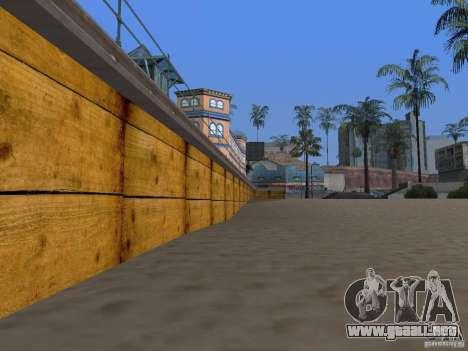 Playa nueva textura v2.0 para GTA San Andreas sexta pantalla