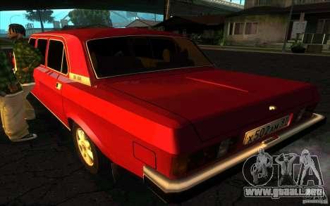GAZ 3102 Volga Limousine para GTA San Andreas left