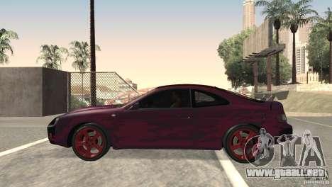 Toyota Celica para GTA San Andreas left