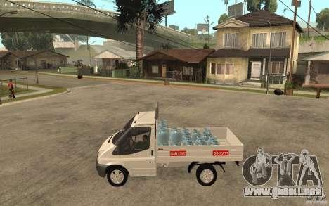 Ford Transit Pickup 2008 para GTA San Andreas