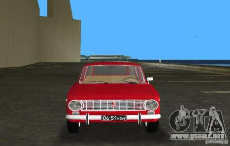 VAZ 2102 para GTA Vice City vista posterior