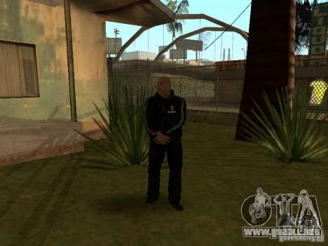 Dwayne The Rock Johnson para GTA San Andreas tercera pantalla