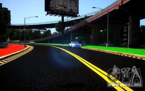 Different HD Roads para GTA 4 tercera pantalla