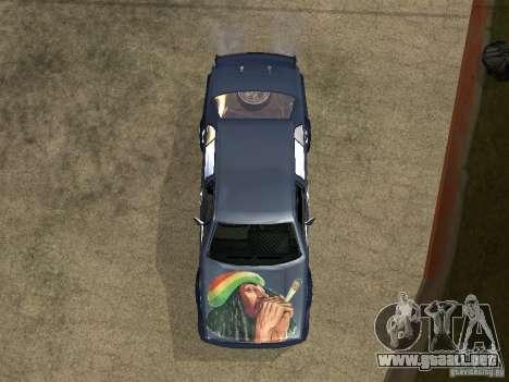 VW Jetta para GTA San Andreas vista hacia atrás