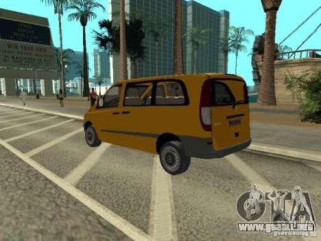 Mercedes-Benz Vito 2003 para GTA San Andreas left