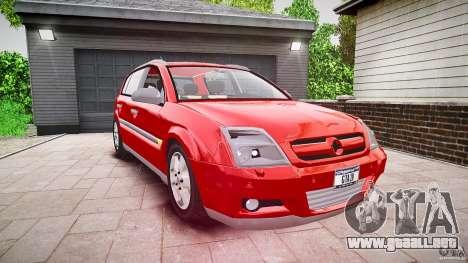 Opel Signum 1.9 CDTi 2005 para GTA 4 visión correcta