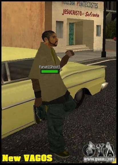 New Vagos [lsv2] para GTA San Andreas segunda pantalla