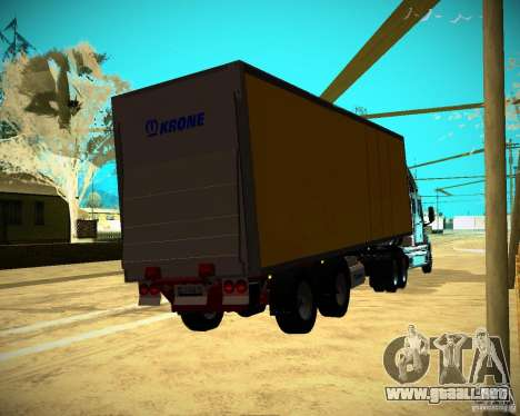 El remolque Krone Biedra para GTA San Andreas left