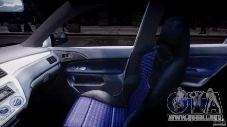 Mitsubishi Lancer Evolution VIII para GTA 4 visión correcta